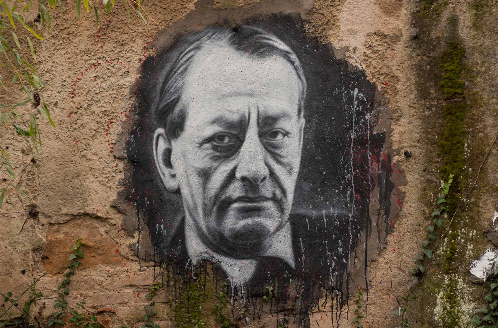 André Malraux, painted portrait / Thierry Ehrmann CC BY 2.0