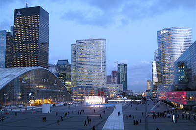Quartier de la Défense, Paris @Christian Heindel/Flickr/CC