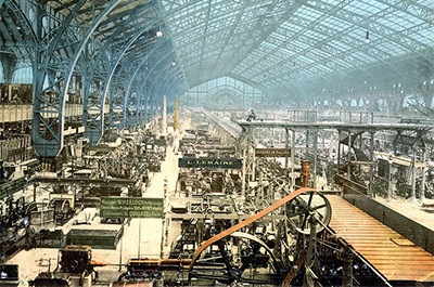 Galerie des machines, Exposition universelle internationale de 1889, Paris
