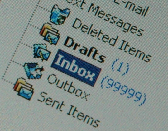 Inbox pleine © Jason Rogers/Flickr