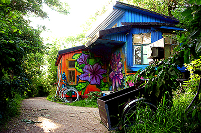 The bucolic side of Christiania ©Arnaud DG / Flickr