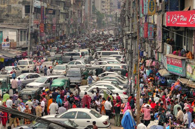 World Class Traffic Jam, Dhaka ©B K / Flickr